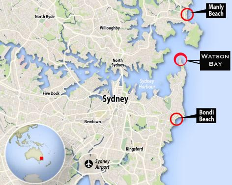 Bay of Sydney Map